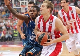 Valencia Basket – Crvena Zvezda Telekom Belgrade (Basketball. Euroleague)